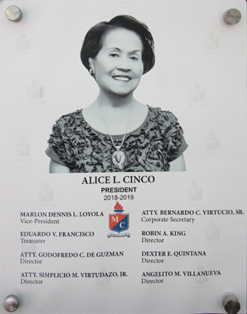 ALICIA L. CINCO - 2018 - 2019